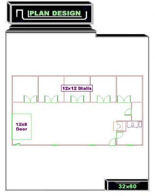 Horse Barn Floor Plans